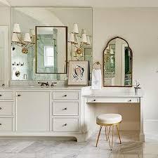 gold hairpin bathroom vanity stool
