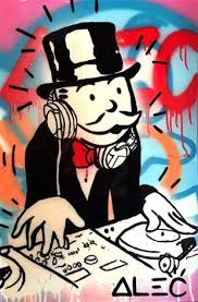 dj monopoly color by alec monopoly on