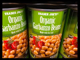 garbanzo beans peas drained and