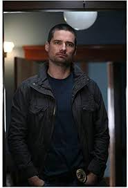 True Justice Warren Christie as Radner Standing Hands in Pockets 8 x 10  Inch Photo at Amazon's Entertainment Collectibles Store