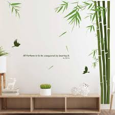 Removable House Decoration Panda Bamboo Wall Stickers Diy Home Decor Living Room Bedroom Chinese Style Vinyl Posters Decals Wall Stickers Aliexpress