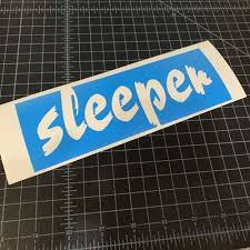Sleeper Sticker Stickerboost Com
