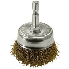 Josco Brumby Spindle Mounted Cup Brush 50mm Mitre 10
