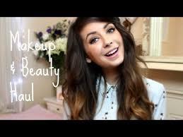 makeup beauty haul zoella beauty