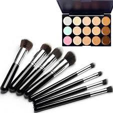 8 pcs makeup eye lip