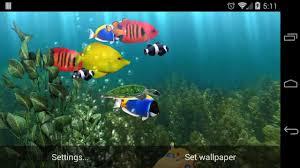 aquarium live wallpaper you