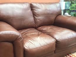 colour to a faded leather sofa