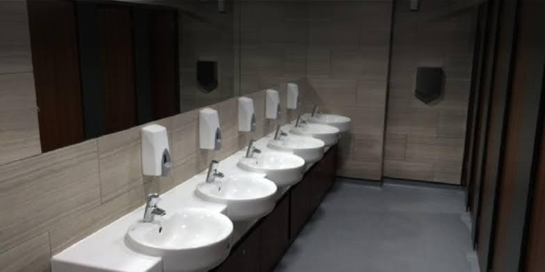 Ilustrasi toilet kantor