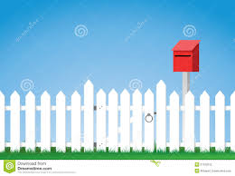 Picket Fence Mailbox Stock Illustrations 11 Picket Fence Mailbox Stock Illustrations Vectors Clipart Dreamstime