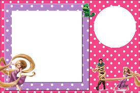 Invitaciones De Enredados Rapunzel Para Imprimir Gratis Ideas