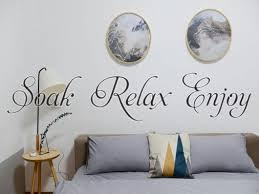 Soak Relax Enjoy Car Or Wall Vinyl Decal Fusion Decals
