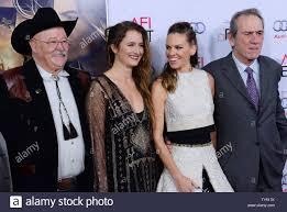 Cast members Barry Corbin, Grace Gummer, Hilary Swank and Tommy ...