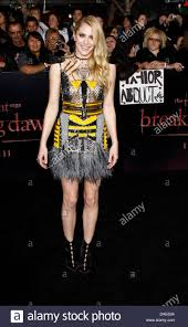 """US actress Casey LaBow arrives for the World Premiere of """"The ..."""