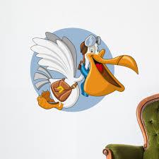 Cartoon Pelican With Open Wall Decal Wallmonkeys Peel And Stick Graphic 36 In W X 28 In H Wm120742 Walmart Com Walmart Com