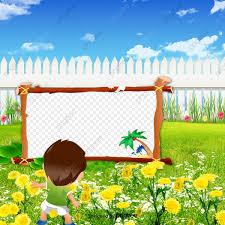 الأطفال الكرتون إطارات الصور إطارات الكرتون للأطفال زهور حيوان