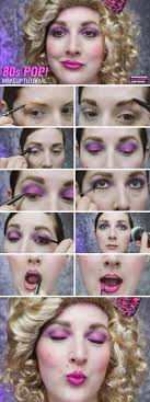 80s makeup tutorial whole