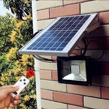 20w 40 led solar powered flood light