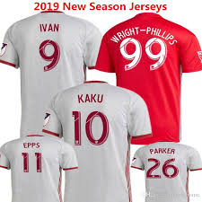 2020 Soccer Jersey MLS New York Red Football Shirts 2019 IVAN ...