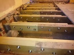 brickwork under suspended floor