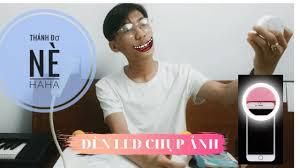 DÙNG THỬ ĐÈN LED QUAY PHIM MINI- ĐÈN LED selfie ring light CHO ĐIỆN THOẠI