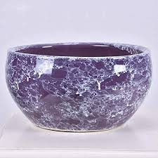 glazed ceramic flower pot 11 inches