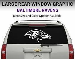 Baltimore Ravens Window Decal Graphic Sticker Car Truck Suv Choose Size Ebay