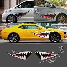 Shark Teeth Car Decal Shark Mouth Vinyl Car Stickers Car