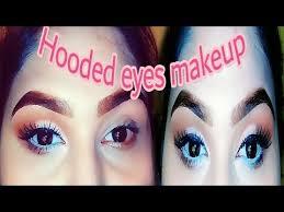 hooded eyes makeup tutorial soft
