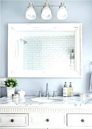 30 x 36 bathroom mirror framed