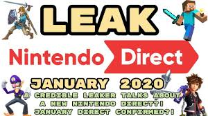 LEAKED Nintendo Direct January 2020 ...
