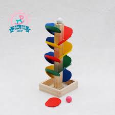 Bộ đồ chơi thả bi gỗ