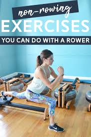 5 non rowing exercises you can do on a