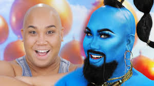 disneys aladdin genie makeup