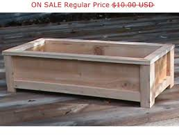 cedar planter plans wood working