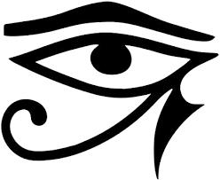 Amazon Com Eye Of Horus Masonic Vinyl Decal Black 6 Inch Automotive