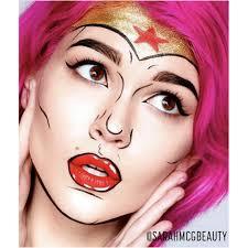 how to do superwoman makeup