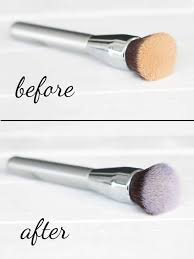 makeup brush cleaner diy it on the