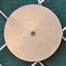 Outdoor Field Wall Pads For Chain Link Fences 8x4 Ft Baseball Track