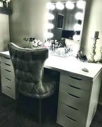 black modern makeup table saubhaya makeup
