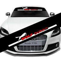 Auto Car Front Reflective Windshield Decal Glass Banner For Sparco Vinyl Sticker Ebay