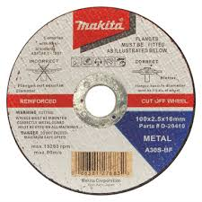 Makita 100 X 2 5 X 16mm Metal Cut Off Wheel Bunnings Warehouse