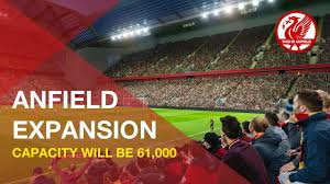 anfield road expansion liverpool to