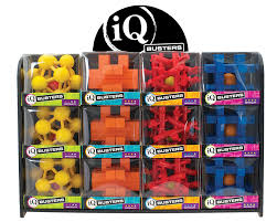 iq busters ball traps display