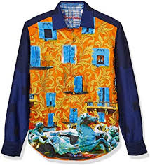 Amazon.com: Robert Graham Men's The Lofton LMT Ed L/S Woven Shirt: Clothing