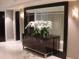 living rooms oversized mirror