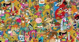 trippy cartoon wallpapers top free