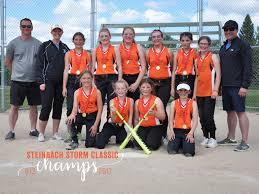 Steinbach Girls U12 Softball Team Takes The Gold - Steinbachonline.com