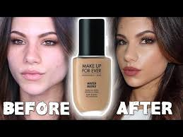 makeup forever water blend foundation