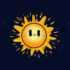 الشمس لطيف التوضيح النواقل فن الخلفية مشرق Png والمتجهات
