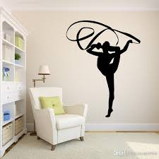 Black Gymnastics Wall Decals Pvc Sports Wall Stickers For Living Room Bedroom Home Decor Gymnasium Wall Decorative Murals Wall Art Decals Wall Art Decals Quotes From Carrierxia 3 39 Dhgate Com